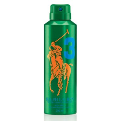 Big Pony Green #3 Body Spray 200ml