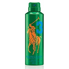Ralph Lauren - Big Pony Green #3 Body Spray 200ml