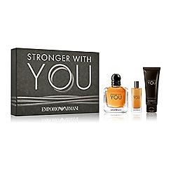 ARMANI - 'Stronger With You' eau de toilette gift set