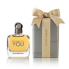 ARMANI - Gift wrapped 'Because It's You' eau de parfum 100ml