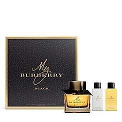Burberry - 'My Burberry' black festive gift set