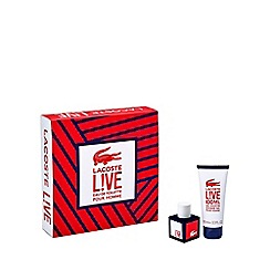 Lacoste - L!VE EDT 40ml gift set  - worth £40.67
