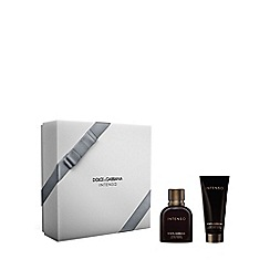 Dolce&Gabbana - Intenso EDP 75ml gift set  - worth £93.60