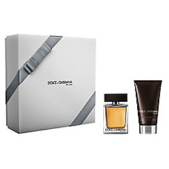 Dolce&Gabbana - The One For Men EDT 50ml Christmas gift set  - worth £82.50