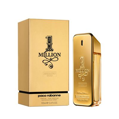 1 Million Absolutely Gold Pure Perfume 100ml