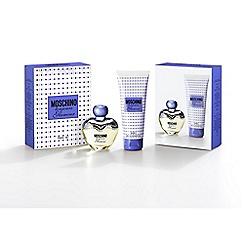 Moschino - Glamour' eau de toilette gift set 50ml