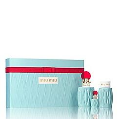 Miu Miu - 'Miu Miu' eau de parfum 100ml gift set