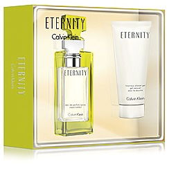 Calvin Klein - 'Eternity Woman' eau de parfum 30ml Christmas gift set