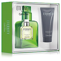 Calvin Klein - 'Eternity Men' eau de parfum  30ml Christmas gift set
