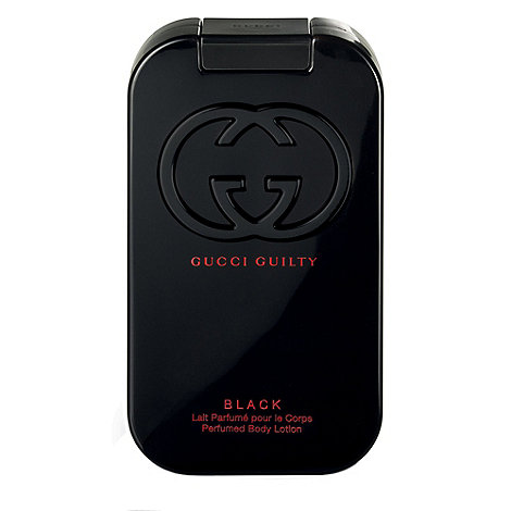 GUCCI - +Guilty Black+ body lotion