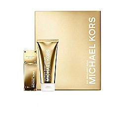 Michael Kors - Michael Kors 24K Brilliant Gold 50ml Eau de Parfum gift set worth  £81.30
