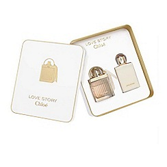 Chloé - Love Story 50ml Eau de Parfum Christmas Gift Set worth  £83