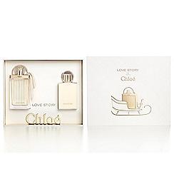Chloé - 'Love Story' eau de parfum 50ml Christmas gift set