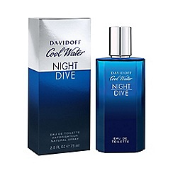 Davidoff - Cool Water Night Dive Eau De Toilette 75ml