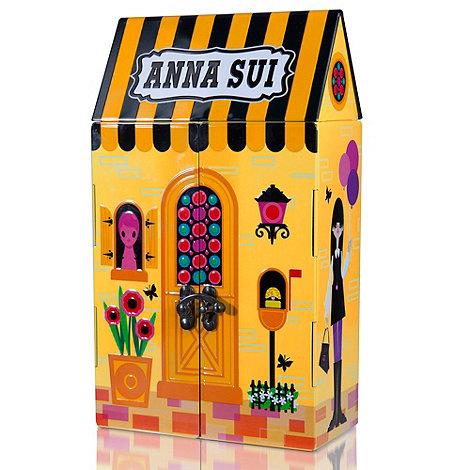 Anna Sui Debenhams Exclusive Anna Sui Tin House Flight of Fancy EDT 50ml from debenhams.com