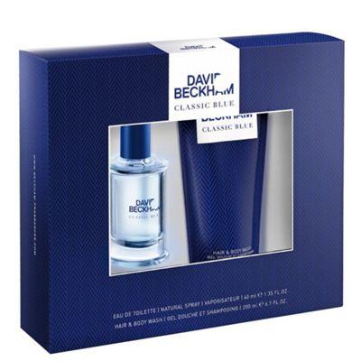 Beckham Classic Blue Eau de Toilette Gift Set 40ml