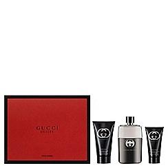 Gucci - 'Guilty Pour Homme' eau de toilette gift set