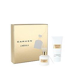 Carven - 'L'absolu' eau de parfum 50ml Christmas gift set
