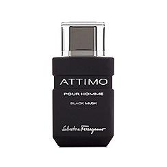 Ferragamo - 'Ferragamo Attimo' black musk fragrance 100ml