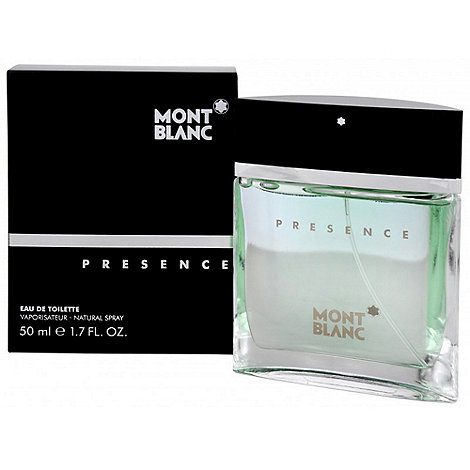 Montblanc - Presence 50ml Eau De Toilette