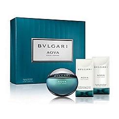 BVLGARI - Aqva Pour Homme Eau de Toilette Gift Set 50ml  - Worth £78