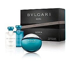 BVLGARI - Aqua Pour Homme EDT 50ml Christmas gift set  - Worth £66
