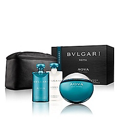 BVLGARI - 'AQVA Pour Homme' eau de toilette 50ml Christmas gift set