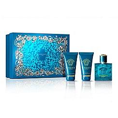 Versace - 'Eros' eau de toilette gift set 50ml