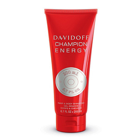 Davidoff - Champion Energy Hair & Body Shampoo 200ml