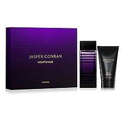 Jasper Conran Fragrance - 'Nightshade Woman' eau de parfum 100ml Christmas gift set