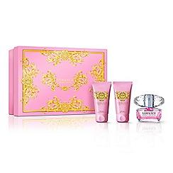 Versace - 'Bright Crystal' eau de toilette 50ml Christmas gift set