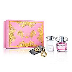 Versace - 'Bright Crystal' eau de toilette 90ml Christmas gift set