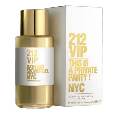 Carolina Herrera 212 VIP eau de parfum 200ml shower gel