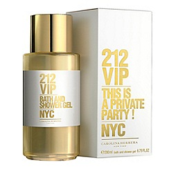 Carolina Herrera - 212 VIP Eau de Parfum 200ml shower gel