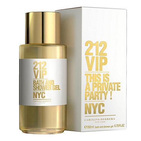 Carolina Herrera - +212 VIP+ bath and shower gel