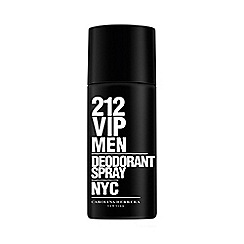 Carolina Herrera - 212 VIP Men Deodorant Spray 150ml