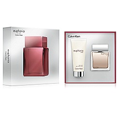 Calvin Klein - 'Euphoria Men' eau de toilette 50ml Christmas gift set