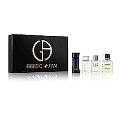 ARMANI - 'Giorgio Armani Mini Christmas for Men' eau de toilette Christmas gift set