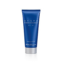 Ferragamo - 'Acqua Essenziale Blu' shampoo and shower gel