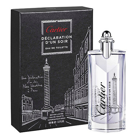 Cartier - Déclaration d+un Soir Place Vendôme 100ml EDT Limited Edition