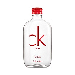 Calvin Klein - 'Ck One' red edition eau de toilette