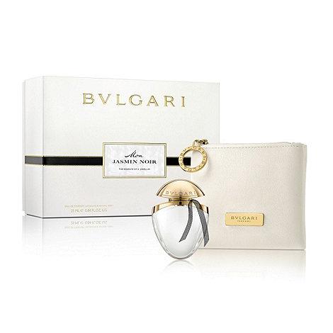 BVLGARI - Mon Jasmin Noir 25ml EDP Jewel Charm and Pouch Gift Set