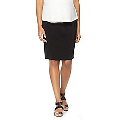 Red Herring Maternity - Black tailored maternity skirt