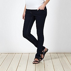 Red Herring Maternity - Blue skinny leg maternity jeans