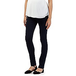 Red Herring Maternity - Dark blue under the bump maternity jeggings