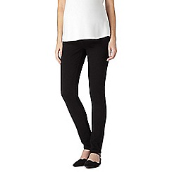 Red Herring Maternity - Black skinny leg maternity jeans