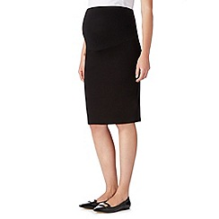 Red Herring Maternity - Black jersey maternity tube skirt