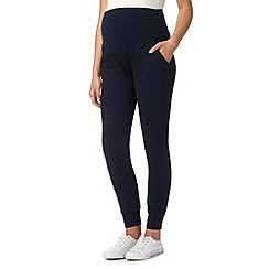 Red Herring Maternity - Navy maternity sweat bottoms