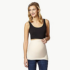 Red Herring Maternity - Pale pink jersey maternity bump band
