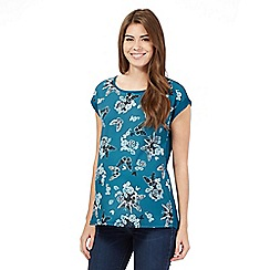 Red Herring Maternity - Dark green butterfly top
